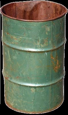 empty barrel