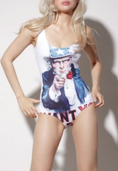 uncle sam bathing suit
