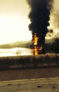 burning river