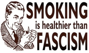 smoking fascism