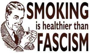 smoking fascism
