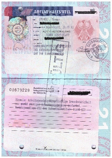 muster visa