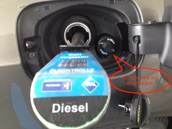 adblue diesel still not clean