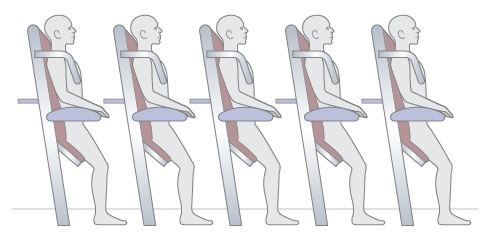 standing seats