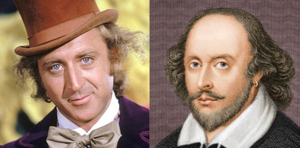 willy wonka and shakespeare