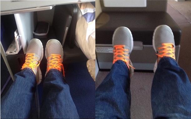 bus vs first class