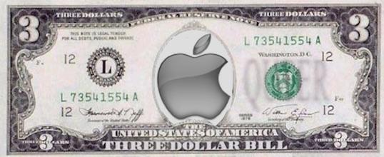 three dollar bill apple logo (low res)