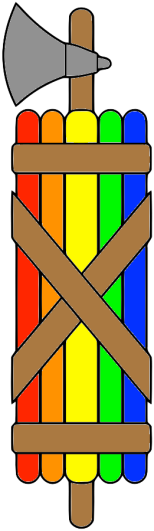 fasces-rainbow