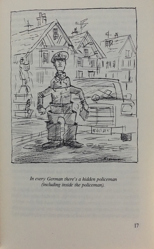 a policeman in every german