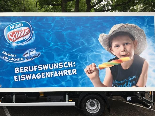 career choice ice cream truck driver
