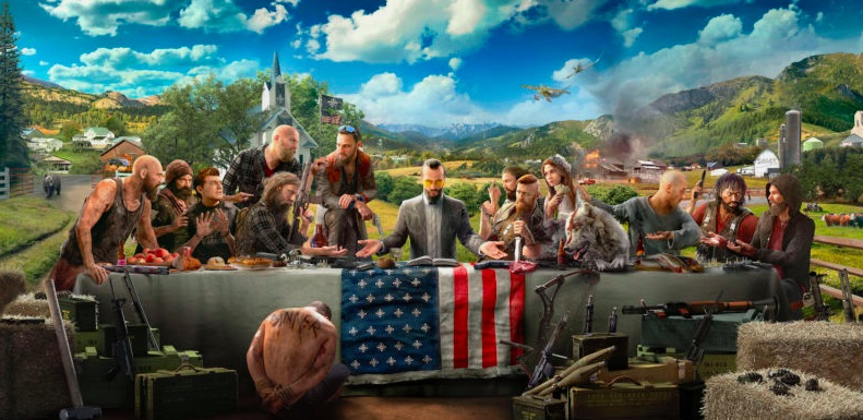 next to last supper from ubisoft far cry