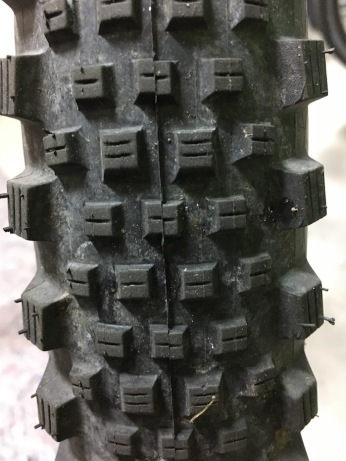 charger gx touring front tire after 1000km