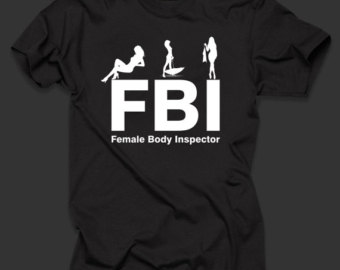 t-shirt fbi female body investigator