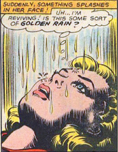 golden rain golden shower trump