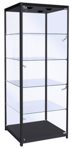 glass cabinet for typwriter collection