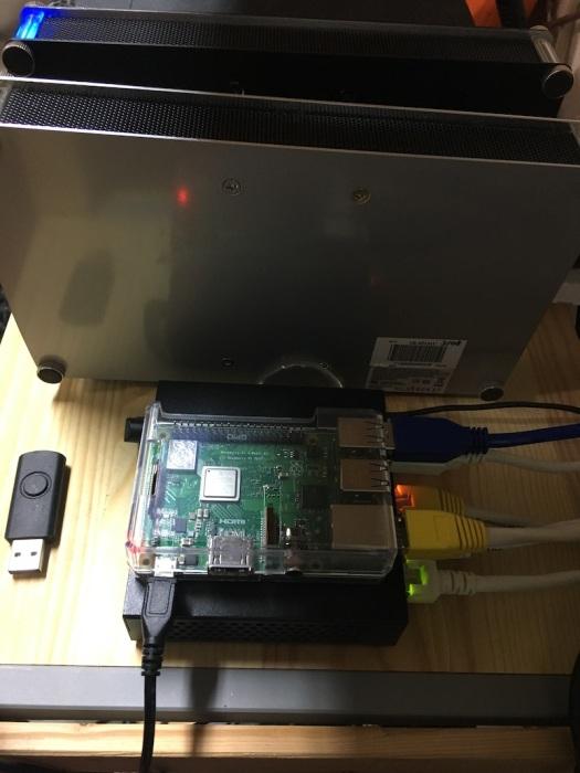 RPi OMV server