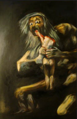kronos eating his son