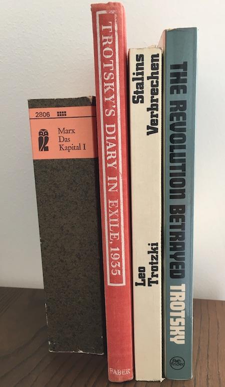 trotsky and revolution books